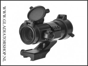 30mm  tactical Red + Green dot Riflescope met opzet mount