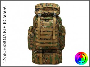 Warrior tactical outdoor backpack 80L