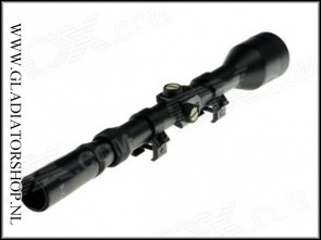 'Warrior' Tactical sniper 3-7x28 slim line scope