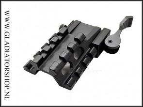 Warrior aluminium Quick Release Picatinny rail