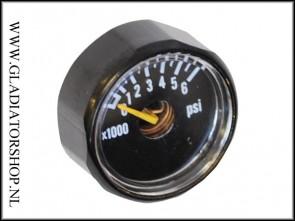 Regulator micro gauge 6000 psi
