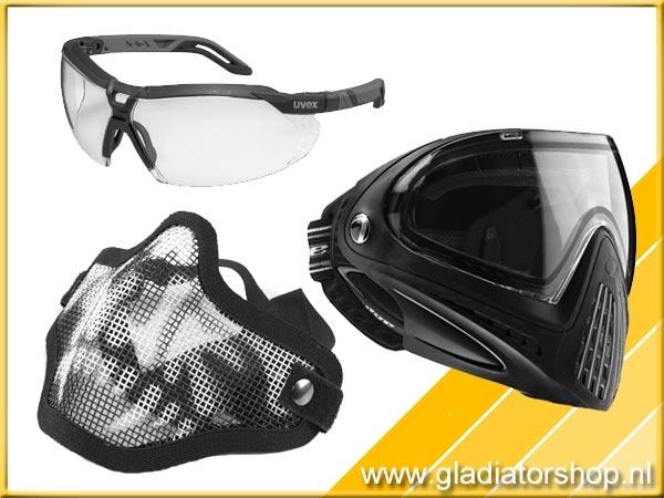 Brillen / maskers