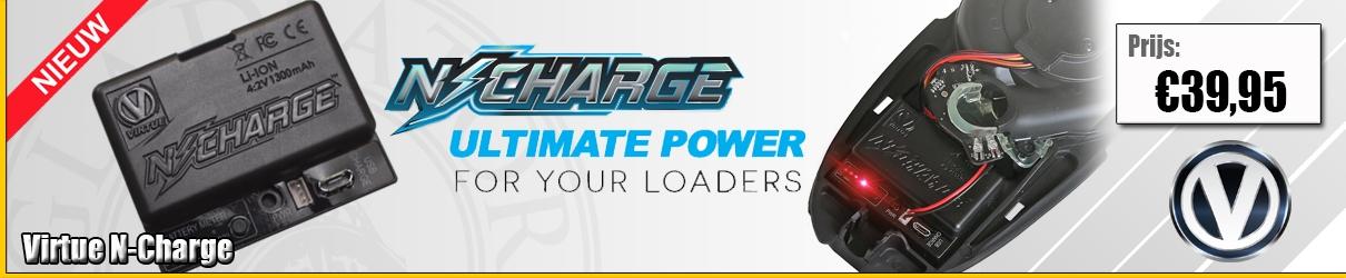 Virtue N-charge vervangt de batterij voor Spire en Rotor