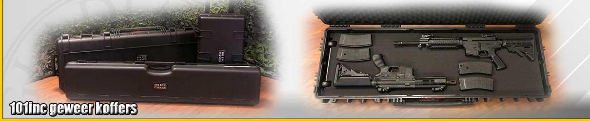 101inc geweer koffers