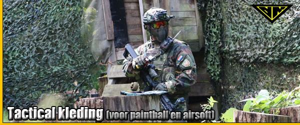 Tactical kleding voor paintball en airsoft