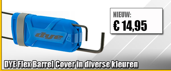 Dye Flex Barrel Cover kopen