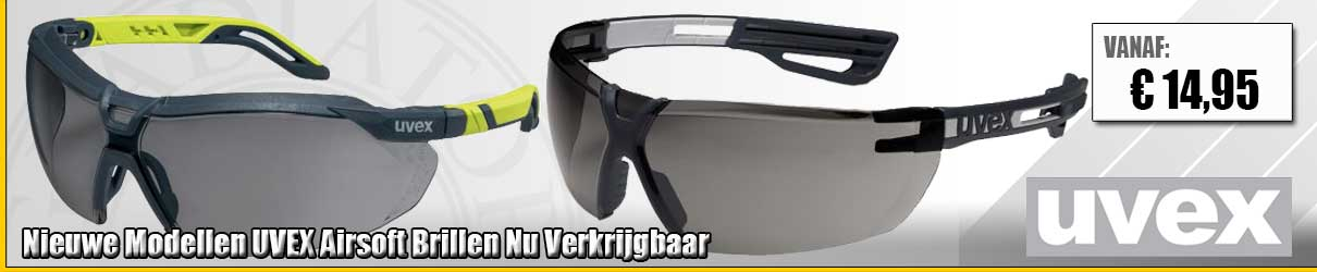 Airsoft Bril UVEX