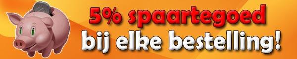 Paintball/Airsoft materiaal voordeel door spaarpunten korting