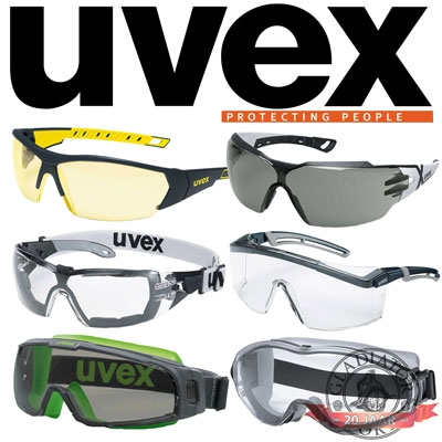 Uvex airsoft veiligheidsbril